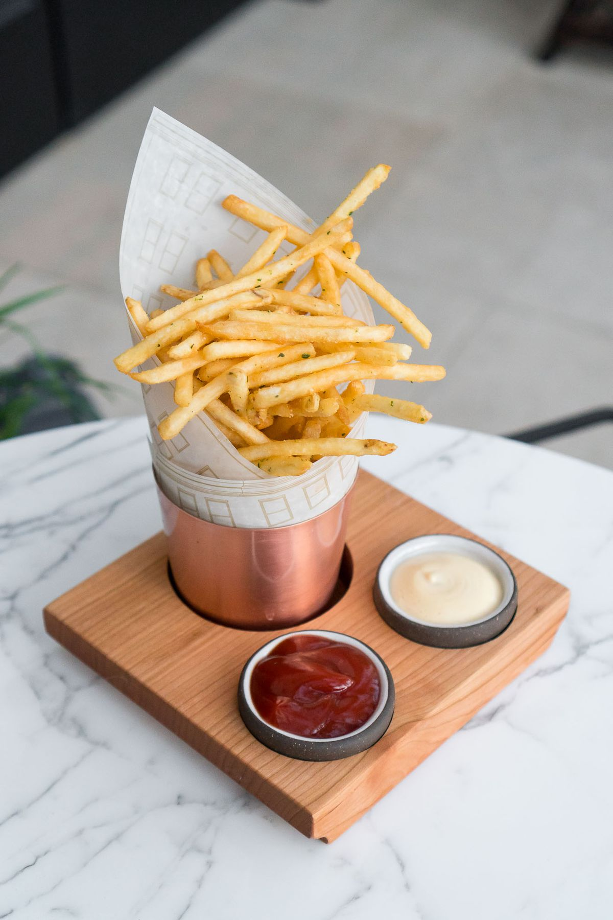 French fries at NoMad Bar