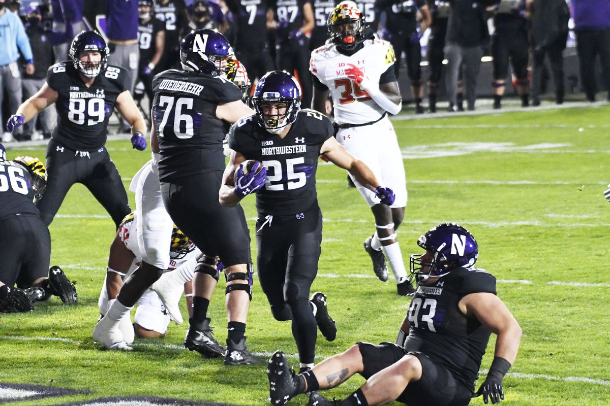 NCAA Football: Maryland at Northwestern