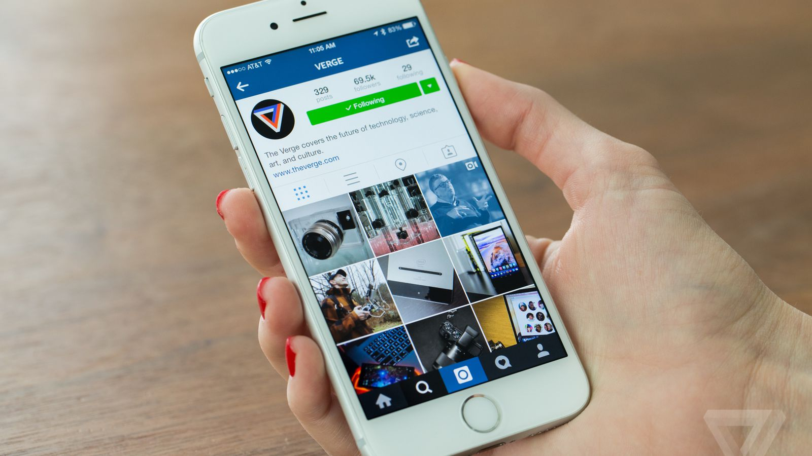 how to crop videos on iphone instagram profiles are the new homepage the verge 1254