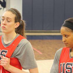 Breanna Stewart (43) & Maya Moore (7)