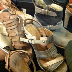 a couple of women's sandal styles