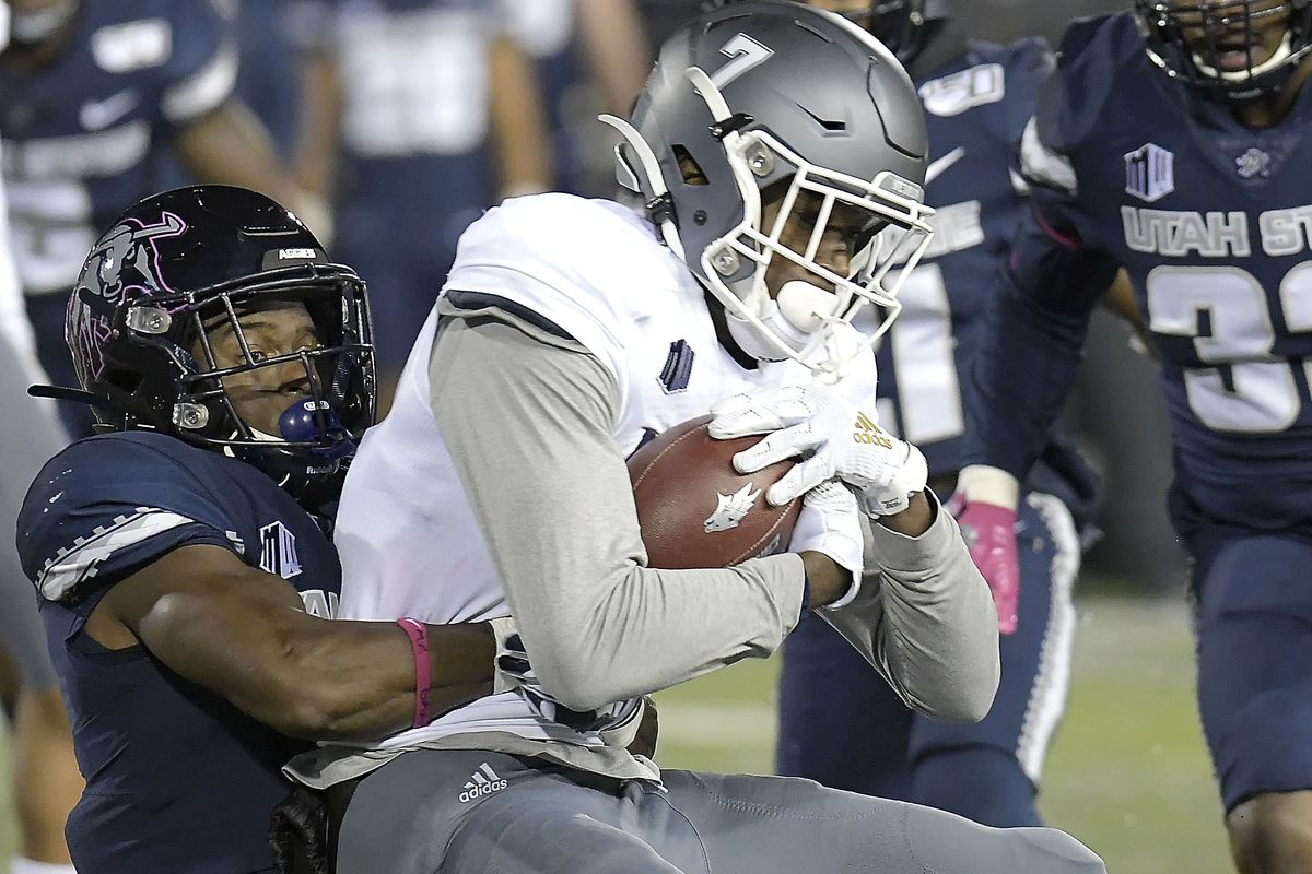 Utah State Bounces Back With Convincing 36 10 Win Over Nevada Deseret News