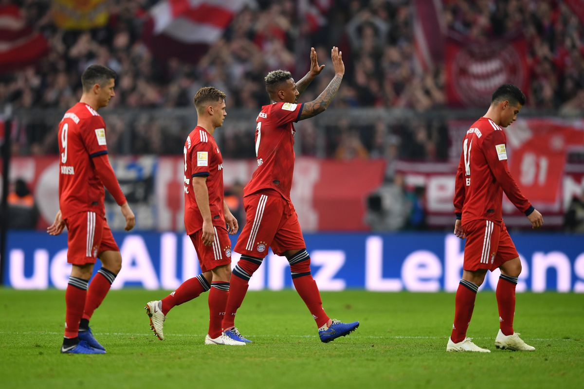 Match awards from Bayern Munich's 1-1 draw against ...