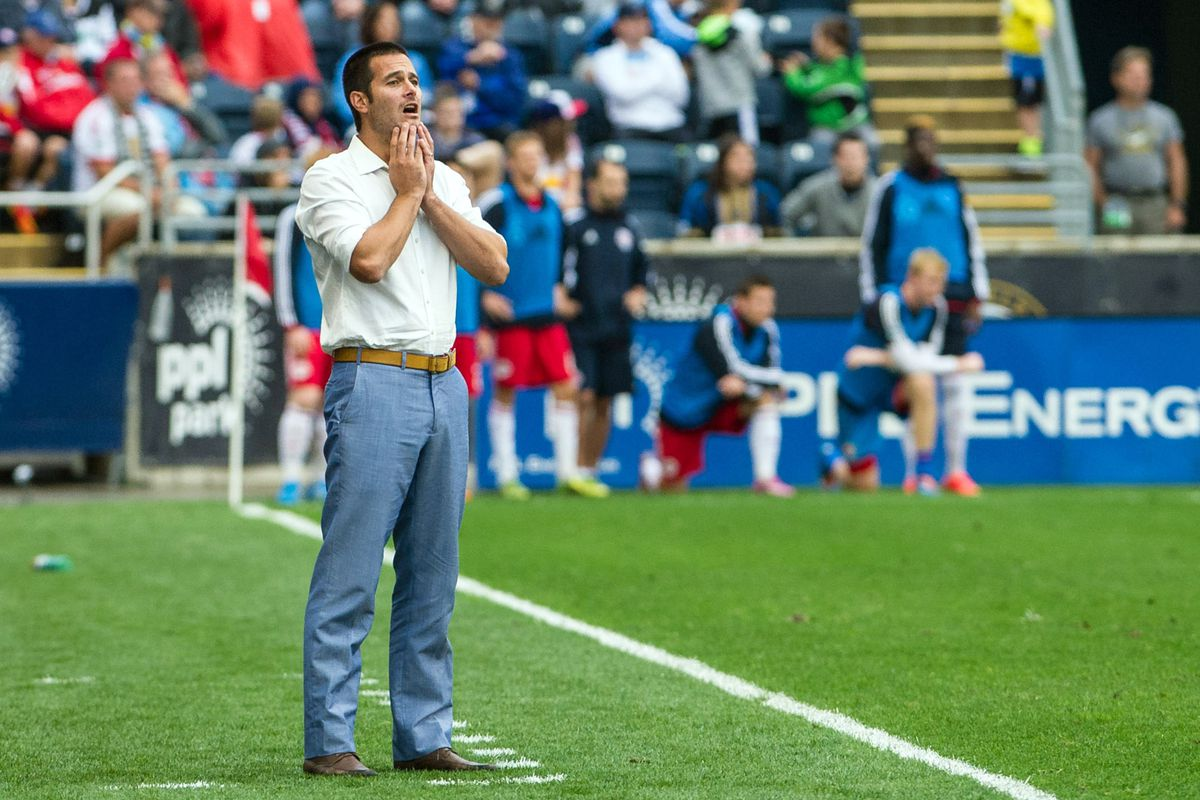 Even Mike Petke doesn't understand why fans are blacked out of games.