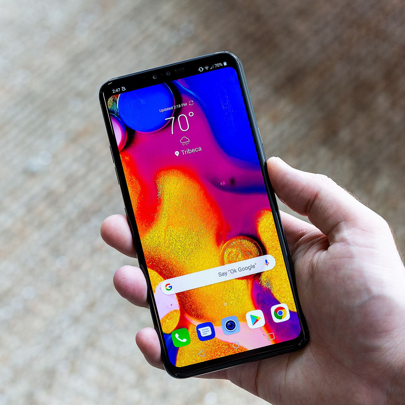 LG V40 ThinQ review: five cameras to change your perspective - The Verge