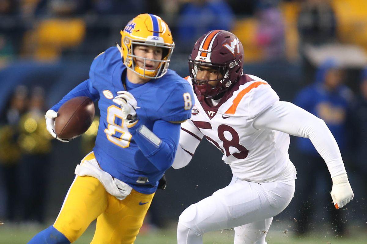 NCAA Football: Virginia Tech at Pittsburgh