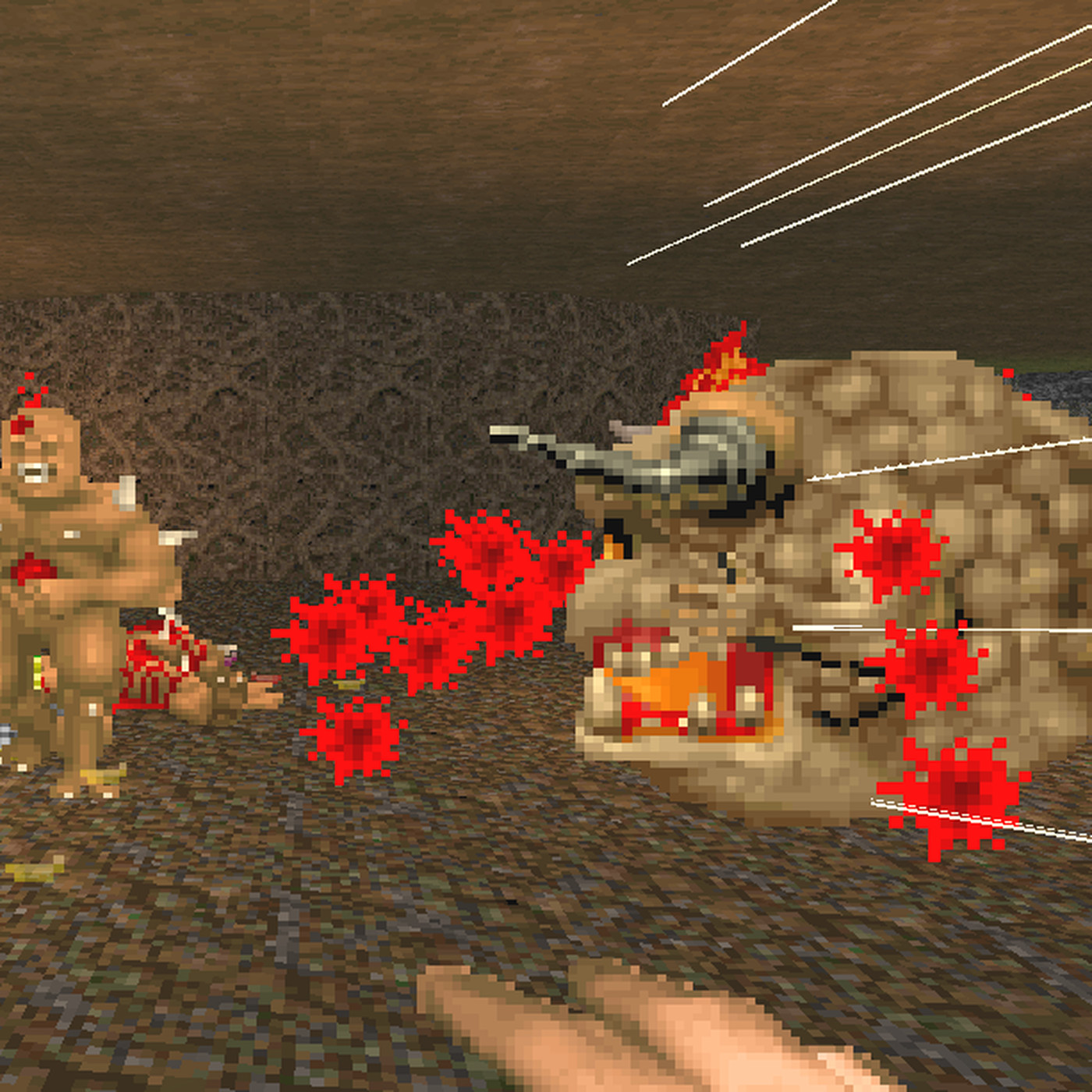 Rip And Tear With Isabelle In This Classic Doom Mod Polygon