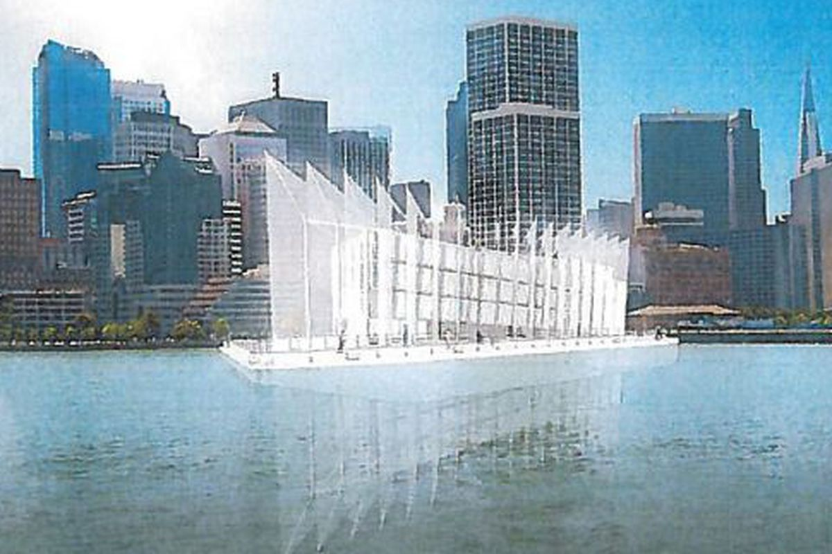 """Rendering of Google's barge from By and Large LLC, via <a href=""""http://sf.curbed.com/archives/2013/11/11/the_google_barge_an_official_statement_and_mysterious_renderings.php"""">Curbed SF</a>"""