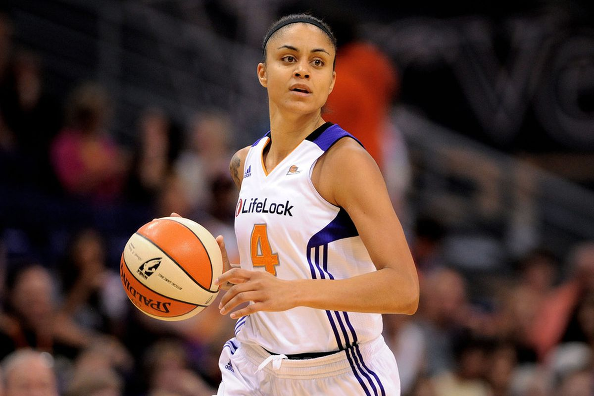 Although fans may show up to WNBA games to see the league's heavily promoted rookies, one new fan appreciated Candice Dupree's game.