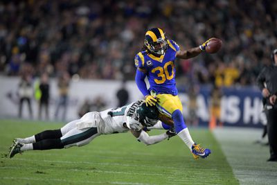 NFL: Philadelphia Eagles at Los Angeles Rams
