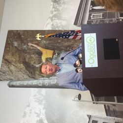 Ogden Mayor Mike Caldwell speaks to reporters about the new Allegiant airline option to fly from Ogden to Las Angeles and Las Vegas. Caldwell made his remarks at the Ogden-Hinckley Airport on Tuesday, June 20, 2017.