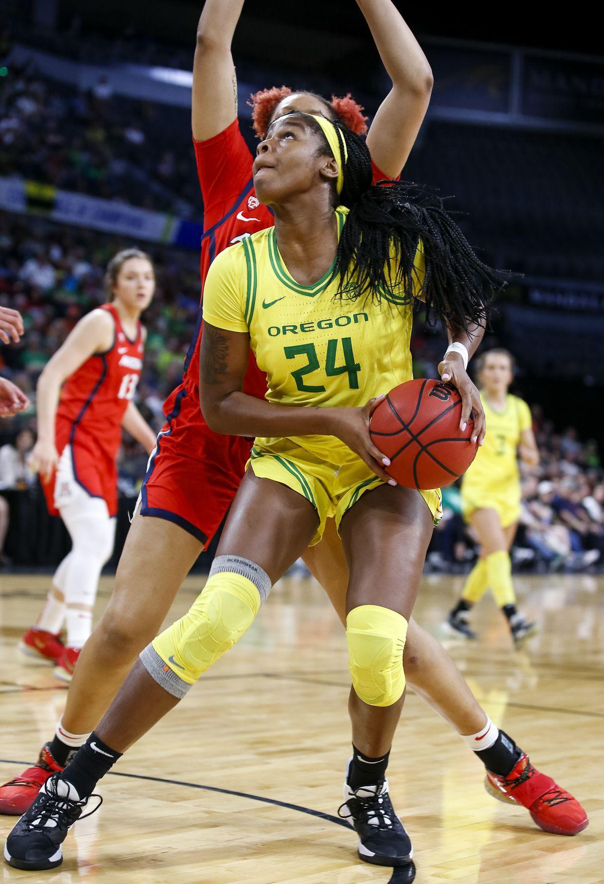 NCAA Womens Basketball: Pac-12 Conference Tournament-Arizona vs Oregon