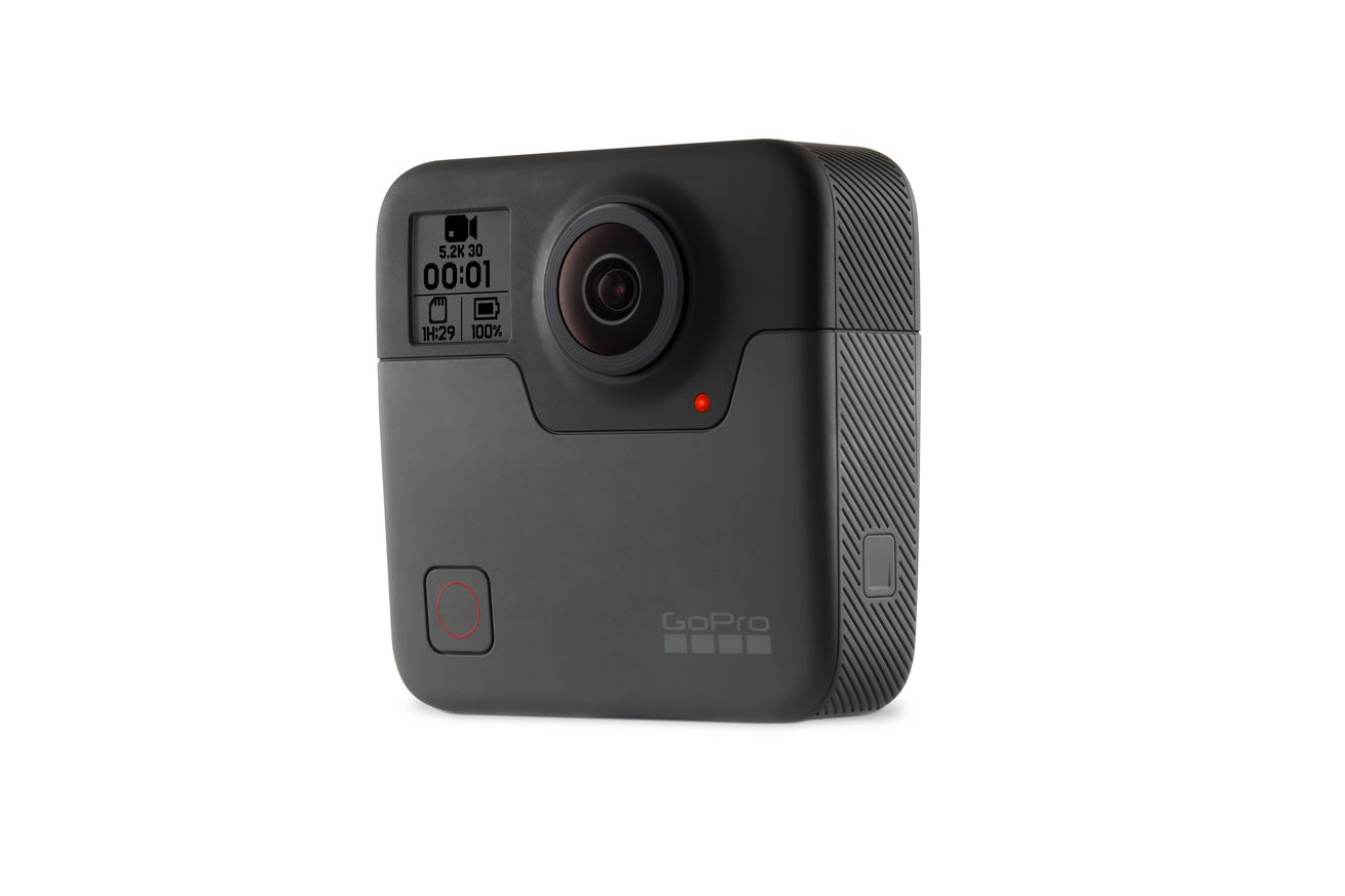 GoPro анонсировала камеру Fusion 360