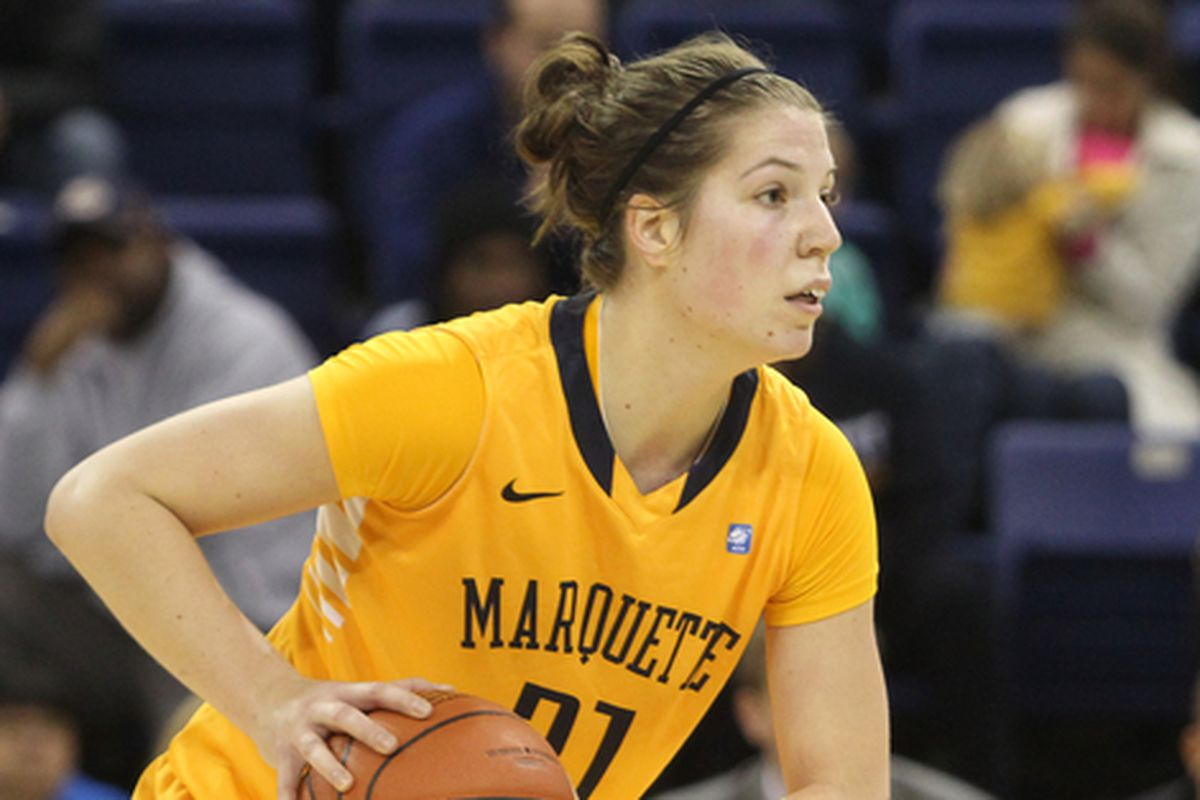 Can Katherine Plouffe keep her double-double streak going against CMU?