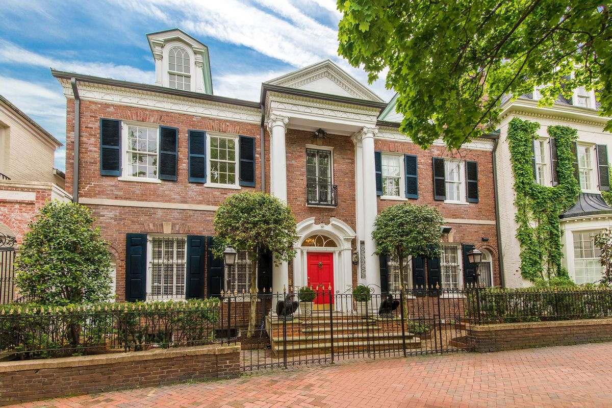 Elegant georgetown home lists for 13m becomes second for Georgetown home