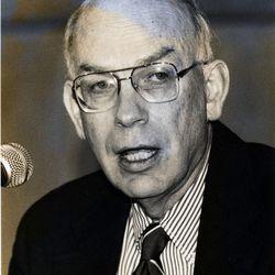 Robert F. Bennett is pictured Aug. 22, 1993.
