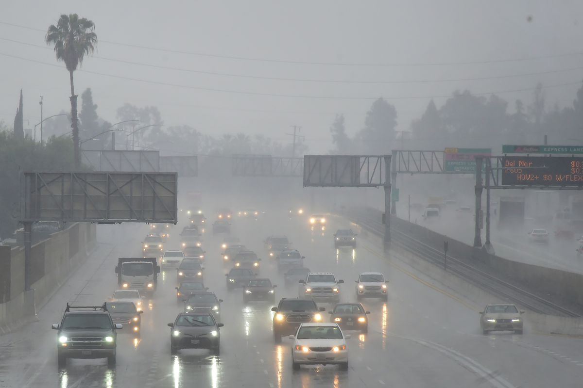 Rain storms slam Los Angeles - Curbed LA