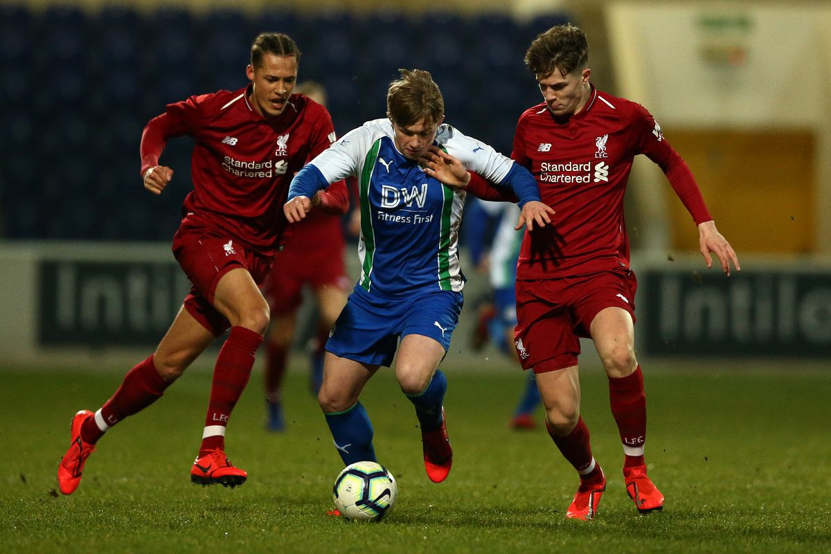 Liverpool v Wigan Athletic - FA Youth Cup