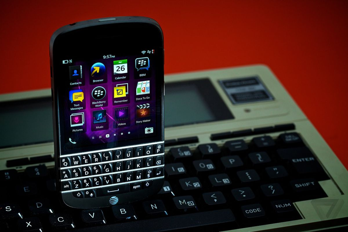 BlackBerry CEO: our future devices will 'predominantly' have