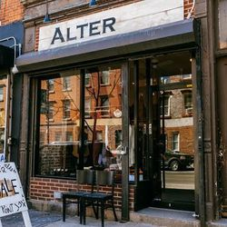 """<b>↑</b> Don't miss <a href="""" http://alterbrooklyn.com/""""><b>Alter</b></a> (140 Franklin Street): it's become a neighborhood favorite for its cool brand mix and irreverent vibe. You'll find local indie designers and cult favorites here—think Cheap Monday,"""