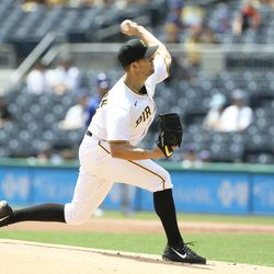 Tyler Anderson, Pirates starting pitcher on Thursday