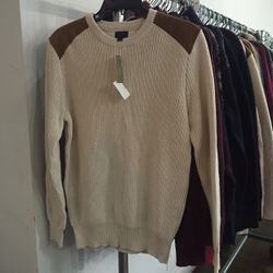Cotton sweater, $35