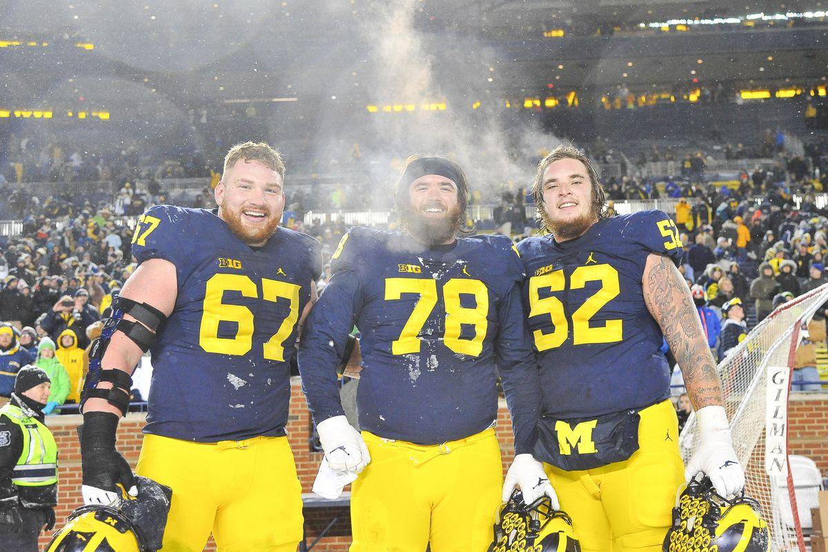 NCAA FOOTBALL: NOV 19 Indiana at Michigan