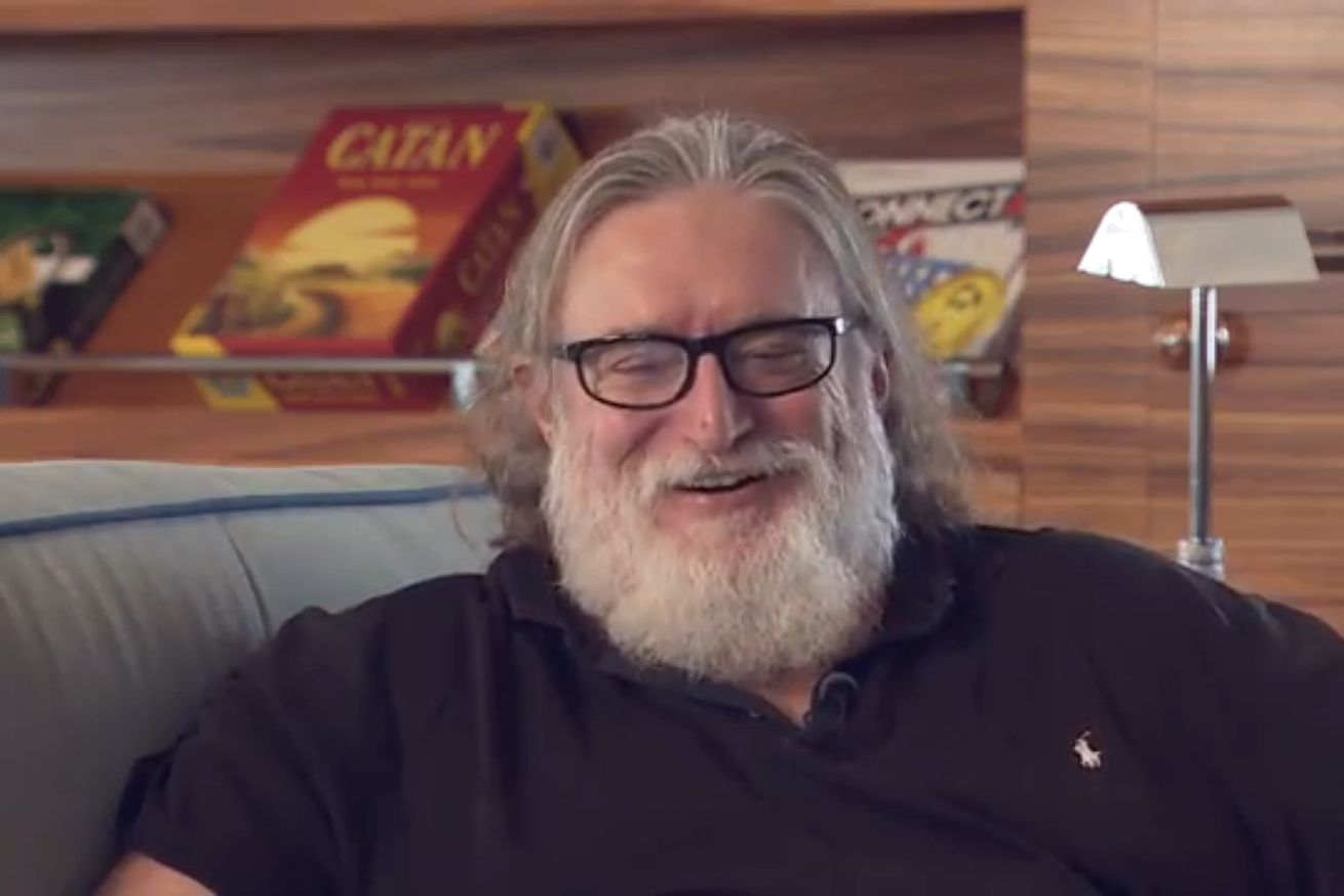 It sure sounds like Valve's Gabe Newell is having a lovely time in New Zealand