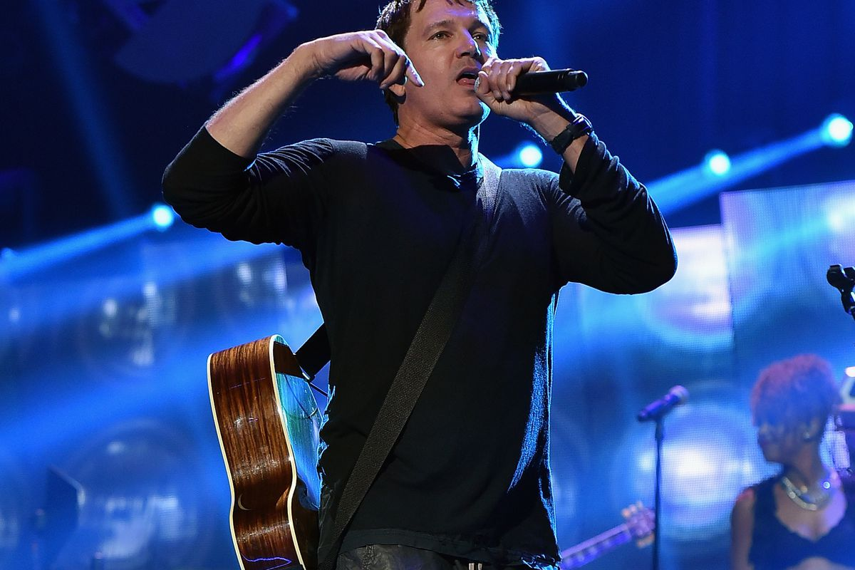Musician Stephan Jenkins of Third Eye Blind performs onstage at the 2015 iHeartRadio Music Festival at MGM Grand Garden Arena on September 18, 2015, in Las Vegas, Nevada.