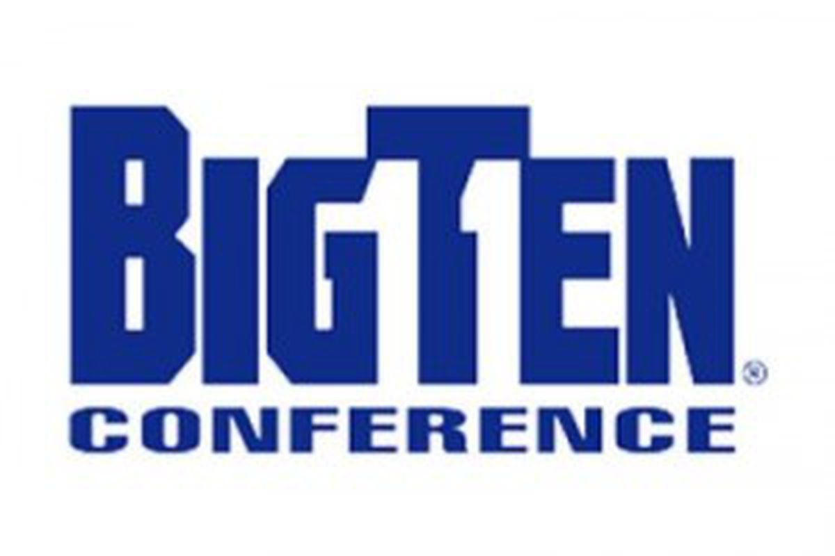That's not an 11 hidden in the logo, it is the two middle fingers that the Big Ten could be giving to the Big East if it feels like raiding some teams this summer.