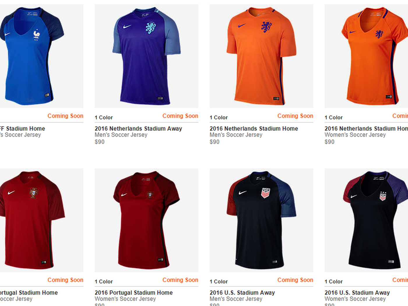 9936743183d Nike Soccer thinks women's jerseys need to show more skin - Stars and  Stripes FC