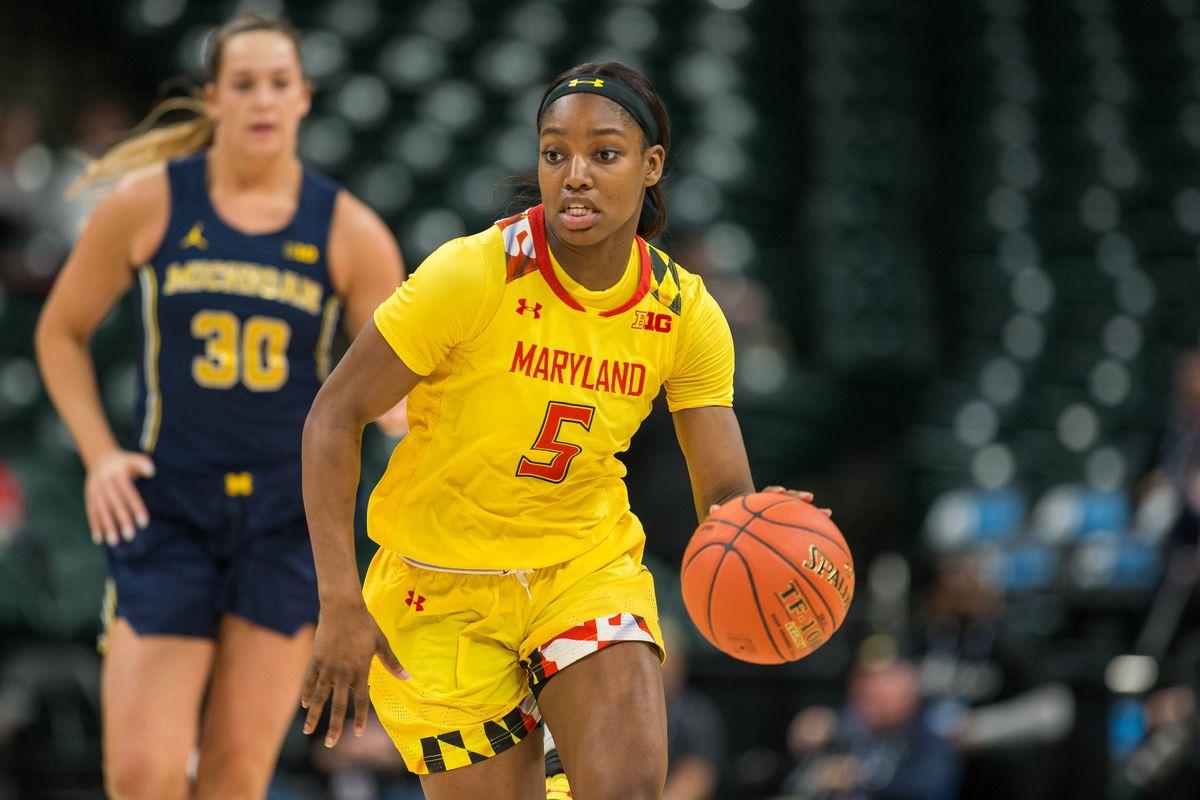 NCAA Womens Basketball: Big Ten Conference Tournament - Maryland vs Michigan