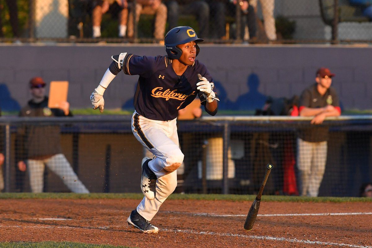 ae6d0b1e25c Freshman Darren Baker (son of Dusty) was the hitting hero for the Golden  Bears on Saturday with the game tying infield hit in the 9th and the game  winning ...