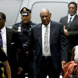 Bill Cosby arrives at the Montgomery County Courthouse during his sexual assault trial, Saturday, June 17, 2017, in Norristown, Pa.