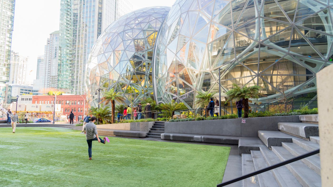 Amazon Spheres in Seattle: everything we know - Curbed Seattle