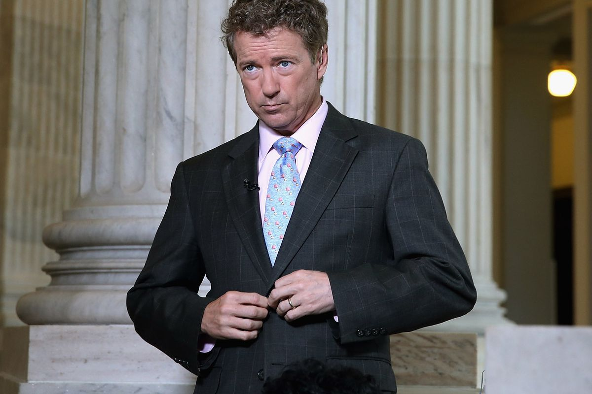 Rand, what in the world is going on with your tax plan?