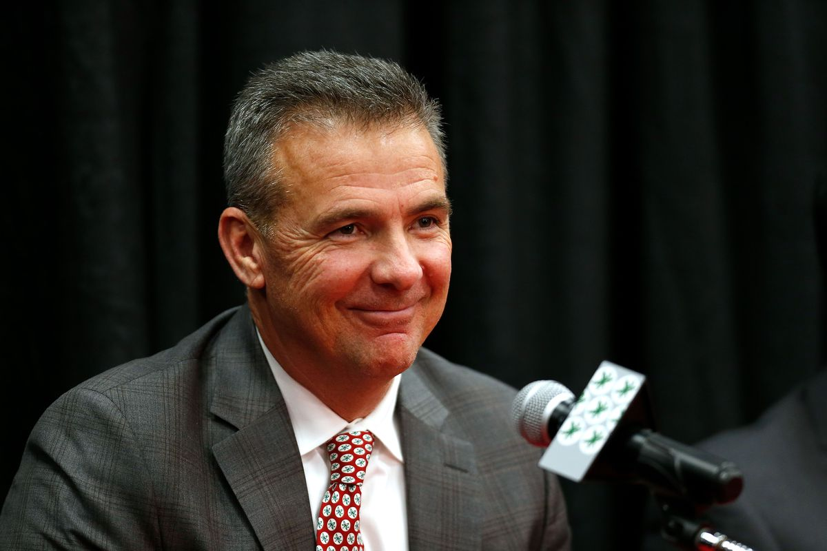 d24218b7491 Photo by Kirk Irwin/Getty Images. Urban Meyer is retiring from Ohio State  after the Buckeyes ...