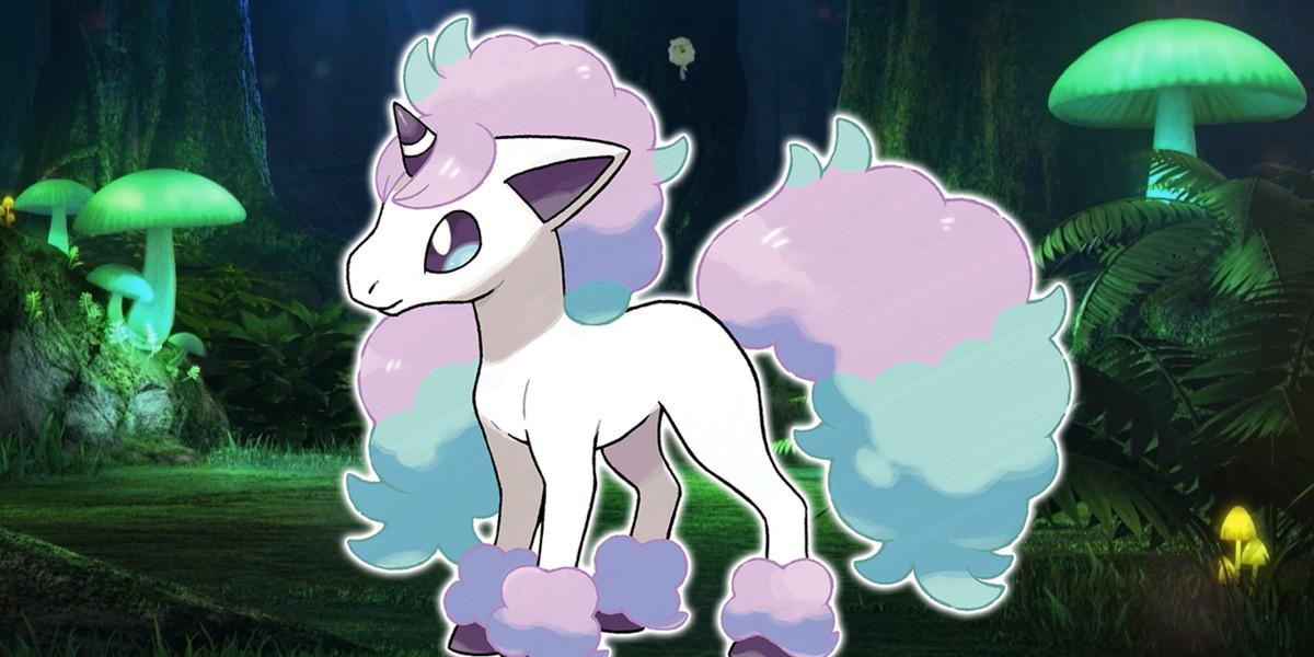 Galarian Ponyta is a Pokémon Shield exclusive
