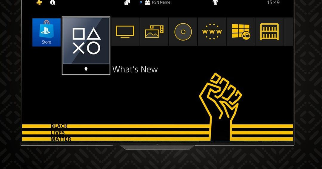 Sony releases free Black Lives Matter PS4 theme thumbnail