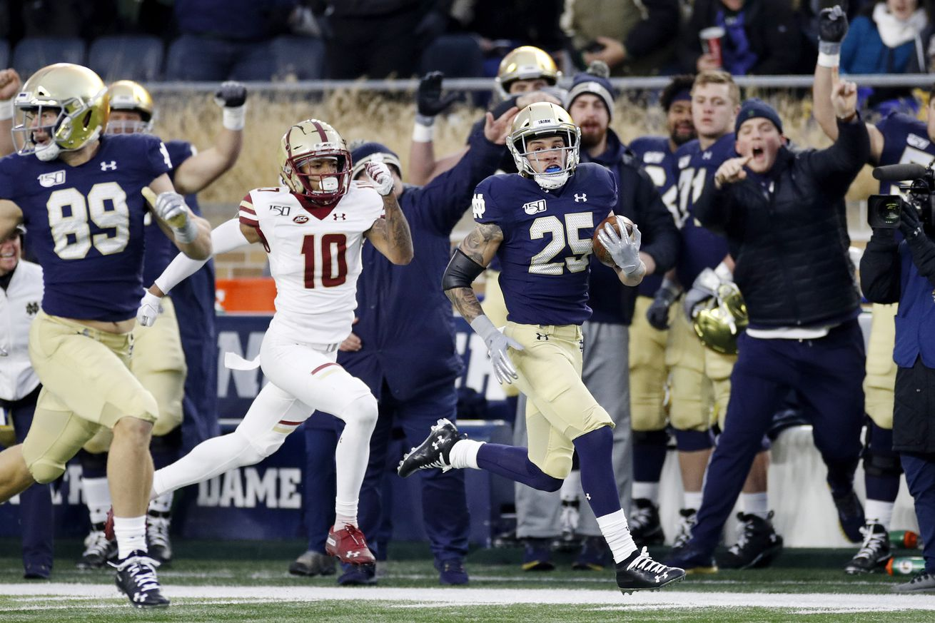 Boston College v Notre Dame