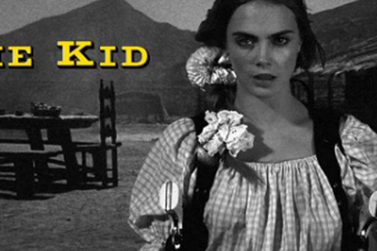 Introducing 'The Kid' and her scrunchie, via MSC video