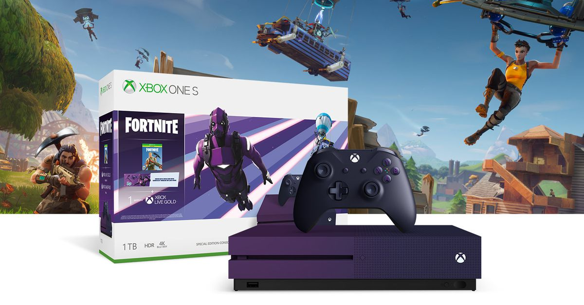 Purple Fortnite Xbox bundle headlines E3 deals next week ...
