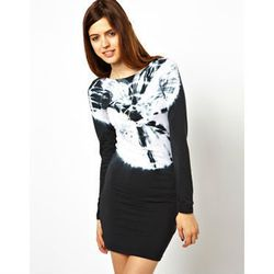 """<a href=""""http://www.asos.com/ASOS/ASOS-Bodycon-Dress-With-Long-Sleeves-And-Tie-Dye-Top/Prod/pgeproduct.aspx?iid=3402349&cid=13499&sh=0&pge=0&pgesize=204&sort=3&clr=Multi"""">ASOS Bodycon Dress With Long Sleeves And Tie Dye Top</a>, $39.52 (was $52.69)"""