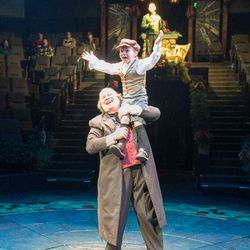 """David Weekes has been playing Ebenezer Scrooge for Hale Centre Theatre's """"A Christmas Carol"""" for 14 years."""