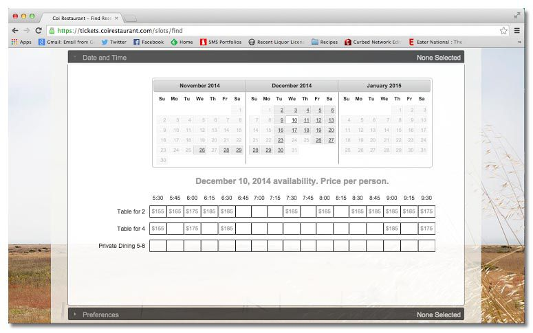 Introducing Nick Kokonas's Ticketing System, Tock - Eater