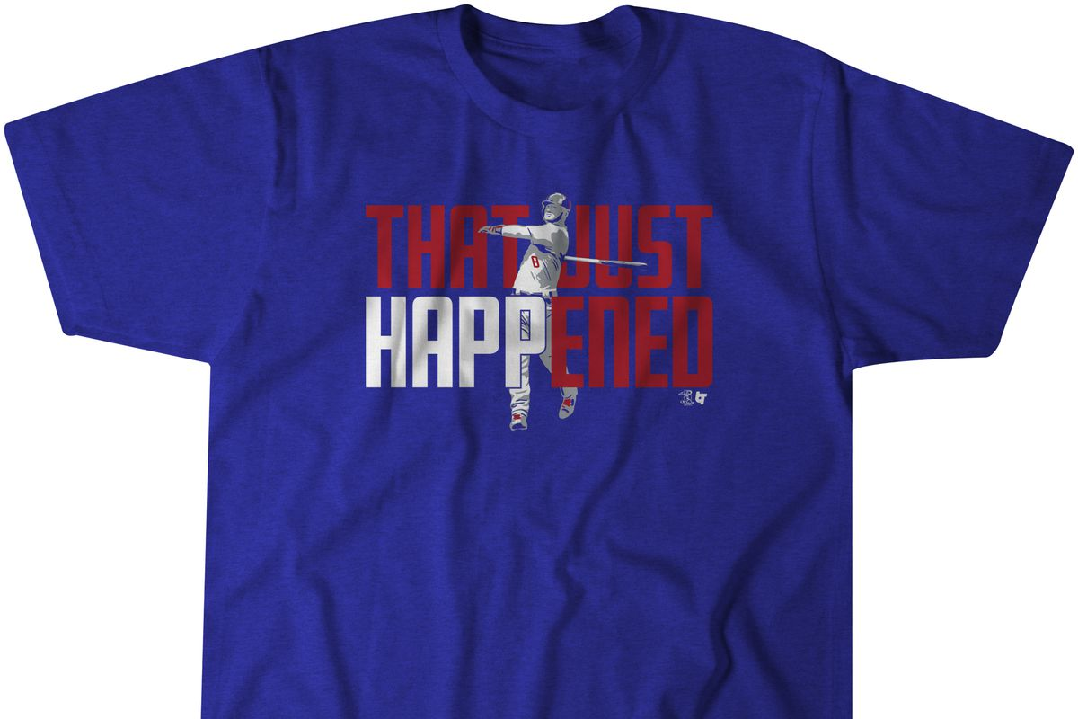 pretty nice faebd 559ca Celebrate Ian Happ's Opening Day home run with this T-shirt ...