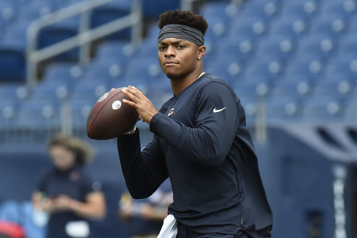 Justin Fields was the fourth quarterback picked this year and went No. 11 overall.