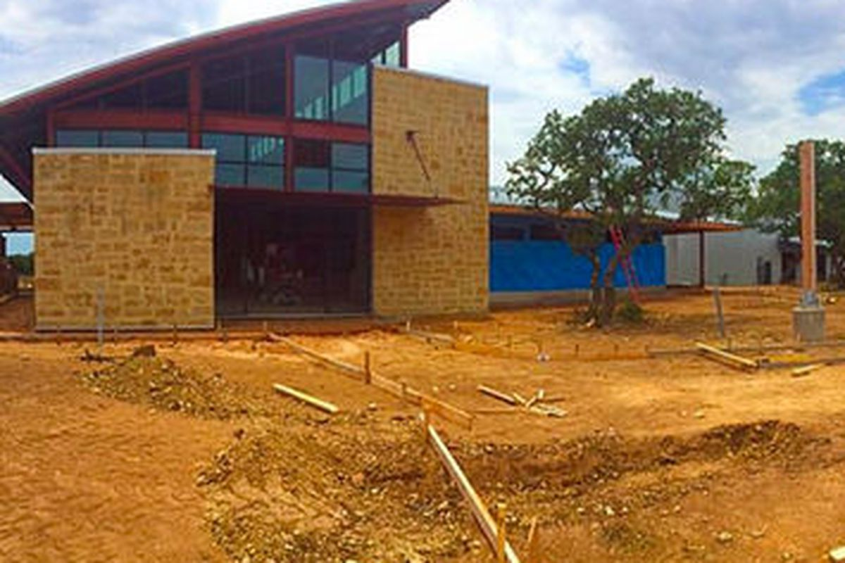 The future home of Deep Eddy's new distillery and tap room.
