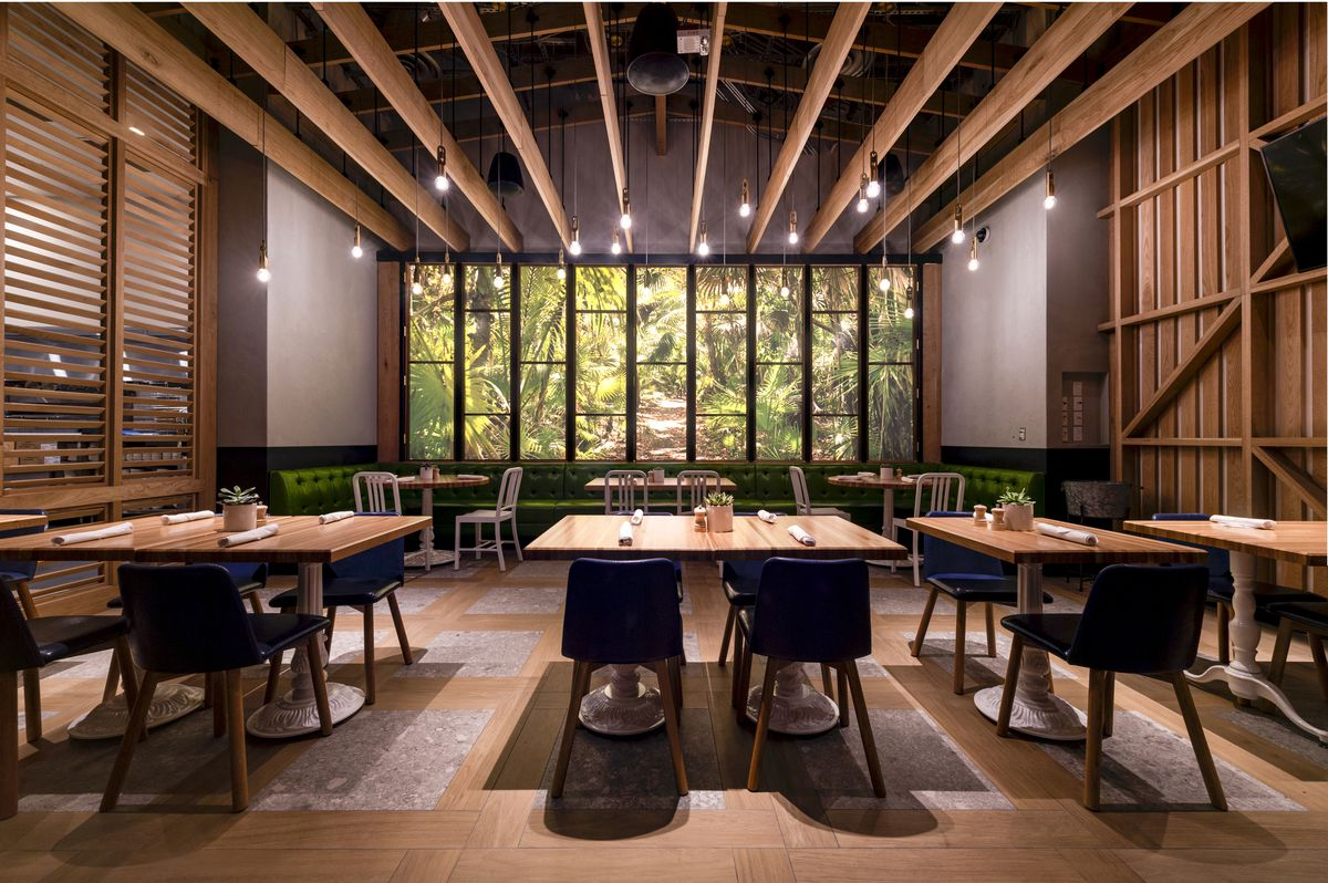 The private dining room at True Food Kitchen