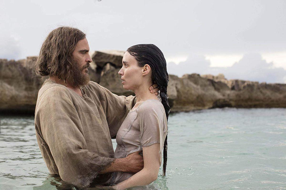 Joaquin Phoenix and Rooney Mara star in Mary Magdalene.